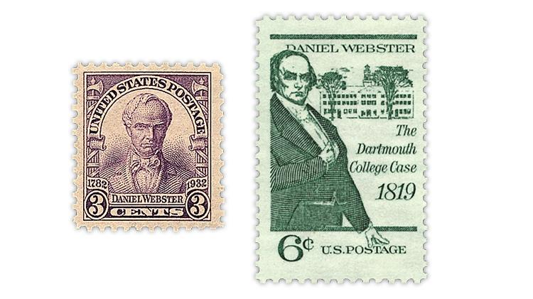 united-states-1932-1969-daniel-webster-stamps