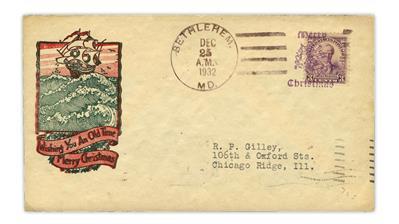 united-states-1932-merry-christmas-bethlehem-maryland-fancy-cancel