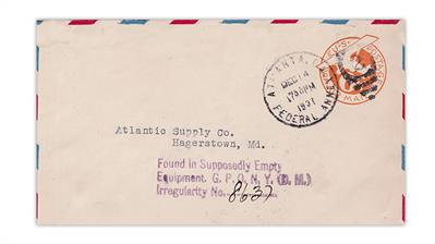 united-states-1937-airmail-cover-supposedly-empty-equipment-auxiliary-marking