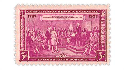 united-states-1937-constitution-sesquicentennial-stamp
