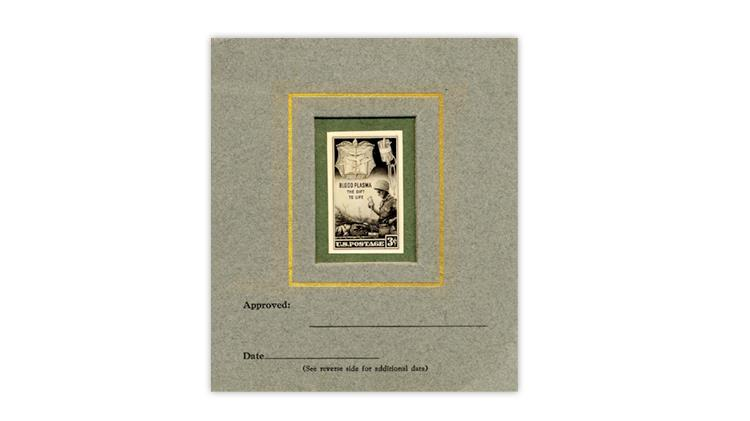 united-states-1945-blood-plasma-stamp-design