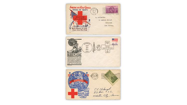 united-states-1945-blood-plasma-stamp-first-day-covers