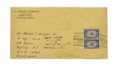 united-states-1945-cover-dispatch-prohibited-handstamp