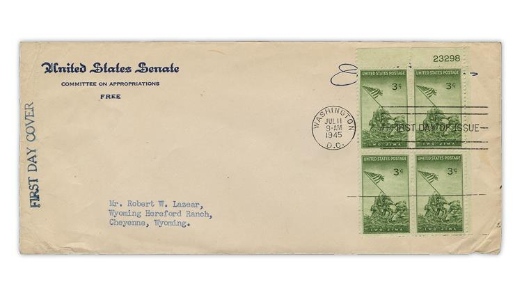 united-states-1945-marines-stamp-first-day-cover-armed-forces-series
