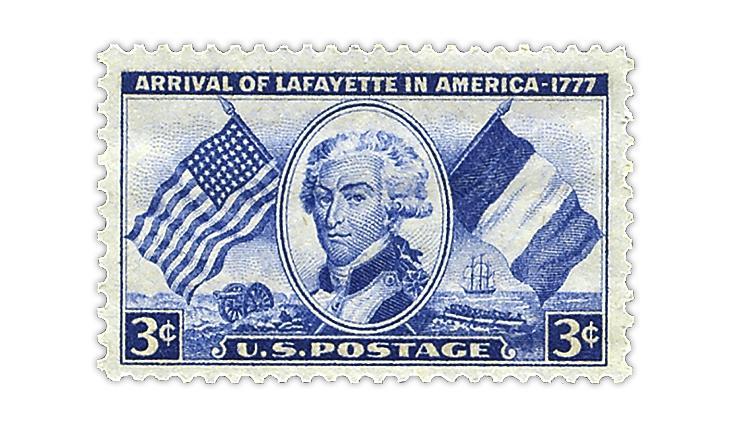 united-states-1952-marquis-de-lafayette-stamp