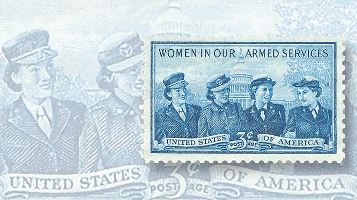 united-states-1952-service-women-commemorative-stamp