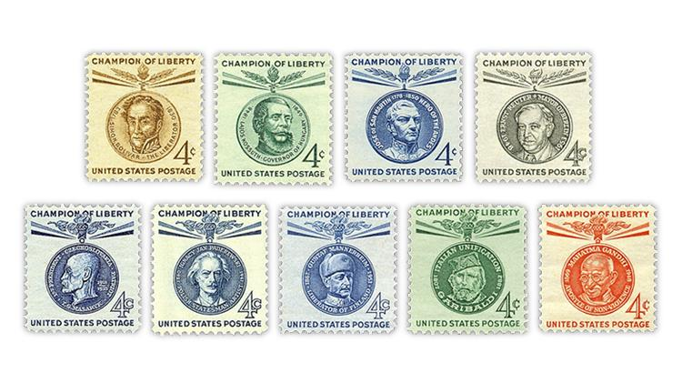 united-states-1958-61-champion-liberty-stamps