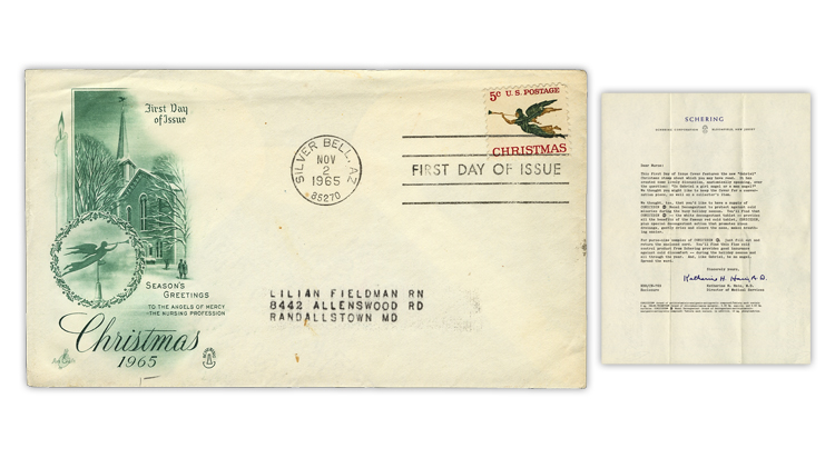united-states-1965-christmas-stamp-first-day-cover
