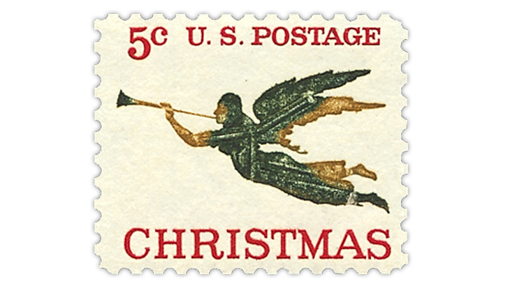 united-states-1965-christmas-stamp