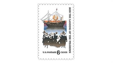 united-states-1970-pilgrims-landing-mayflower-stamp