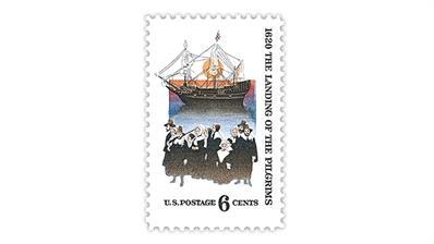 united-states-1970-pilgrims-landing-mayflower-stamp