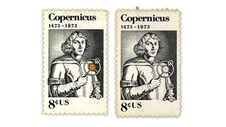 united-states-1973-copernicus-commemorative-stamps