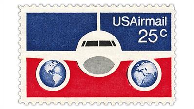 united-states-1976-plane-globes-airmail-stamp