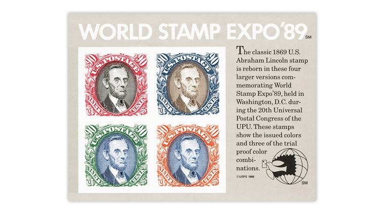 united-states-1989-world-stamp-expo-souvenir-sheet