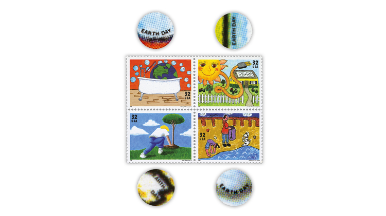 united-states-1995-earth-day-stamps