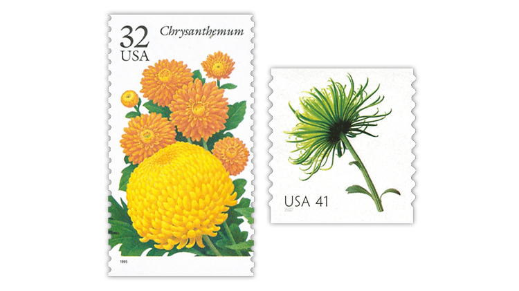 united-states-1995-garden-flowers-2007-beautiful-blooms-stamps
