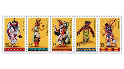 united-states-1996-american-indian-dances-stamps