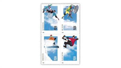 united-states-1999-extreme-sports-stamps