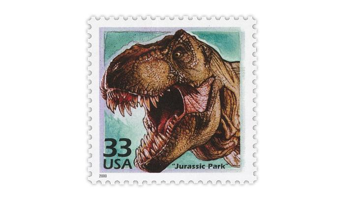 united-states-2000-tyrannosaurus-rex-stamp