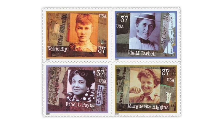united-states-2002-women-journalism-stamps