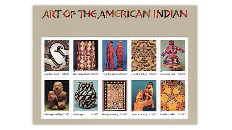 united-states-2004-art-american-indian-stamps-pane