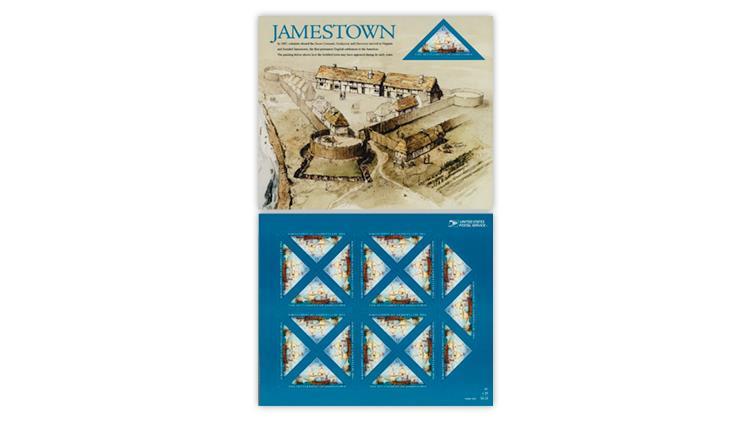 united-states-2007-400th-anniversary-jamestown-stamp-pane