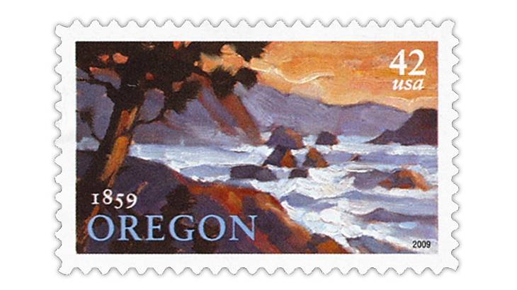 united-states-2009-oregon-statehood-stamp
