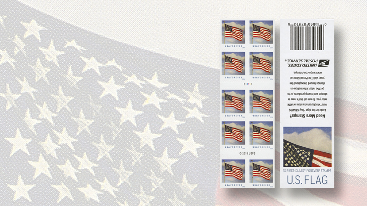 united-states-2016-flag-stamps-booklet-pane-of-10-sennett-security-products