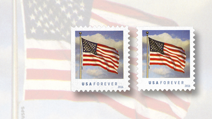 Usps Issued Flag Stamps In Multiple Formats Jan 29