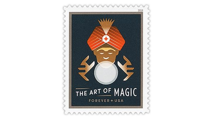 united-states-2018-art-magic-fortune-teller-crystal-ball-stamp