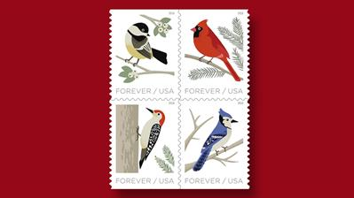 united-states-2018-birds-in-winter-stamps