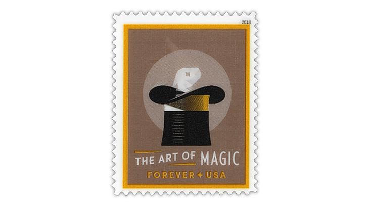 united-states-2018-rabbit-in-hat-lenticular-stamp