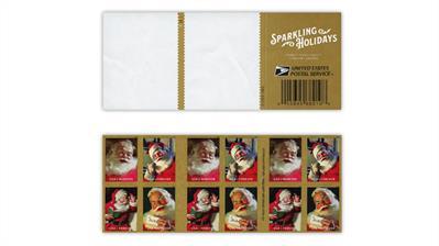 united-states-2018-sparking-holidays-santa-die-cutting-omitted-error