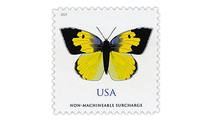 united-states-2019-california-dogface-butterfy-stamp