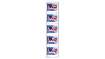 united-states-2019-flag-coil-stamp-die-cutting-omitted-error