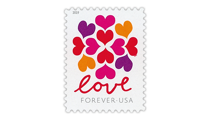 united-states-2019-love-hearts-blossom-stamp