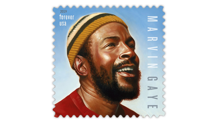 United States 2019 Marvin Gaye Music Icons stamp