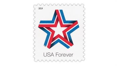 united-states-2019-star-ribbon-definitive-stamp