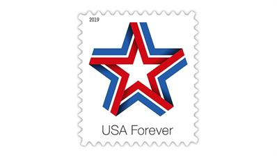 United States 2019 Star Ribbon forever stamp