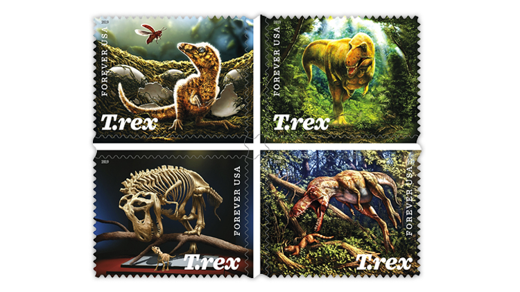 USPS to reschedule ceremony for Tyrannosaurus Rex stamps