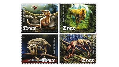 united-states-2019-tyrannosaurus-rex-stamps