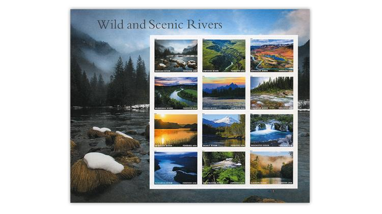 united-states-2019-wild-scenic-rivers-stamps-pane