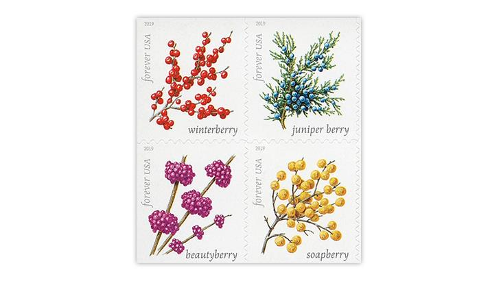 united-states-2019-winter-berries-stamps