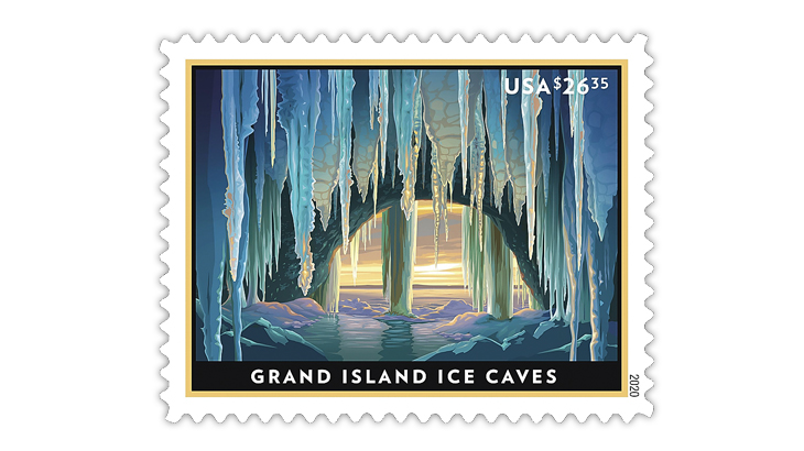 united-states-2020-grand-island-ice-caves-express-mail-stamp