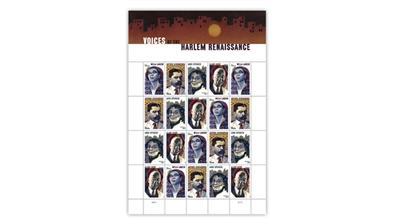 united-states-2020-harlem-renaissance-stamps-pane