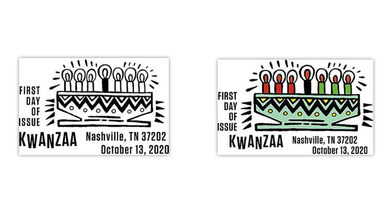 united-states-2020-kwanzaa-stamp-first-day-postmarks