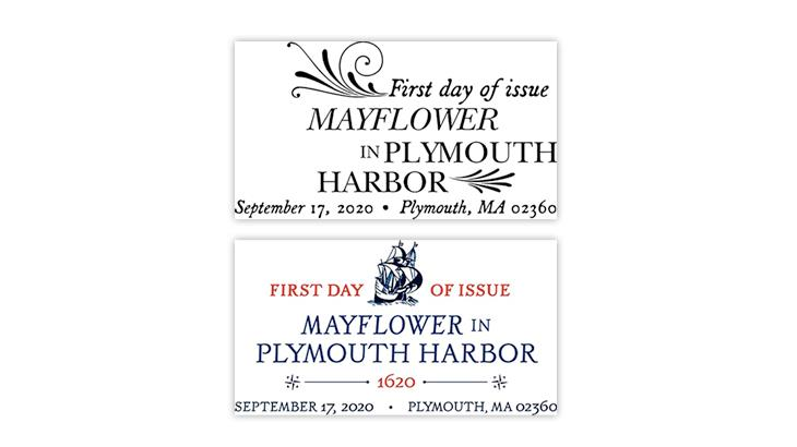 united-states-2020-mayflower-plymouth-harbor-stamp-pictorial-postmarks