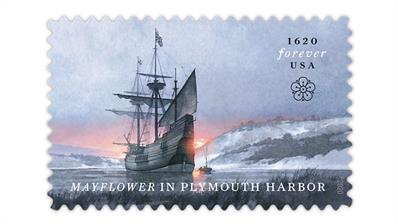 united-states-2020-mayflower-plymouth-harbor-stamp