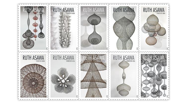 united-states-2020-ruth-asawa-stamps