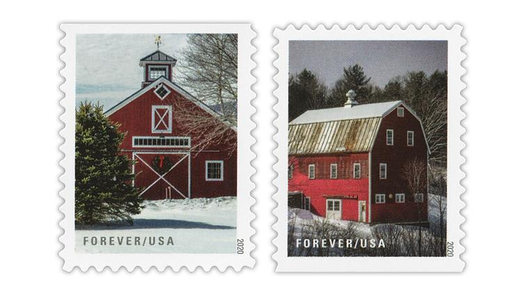 united-states-2020-winter-scenes-barns-stamps